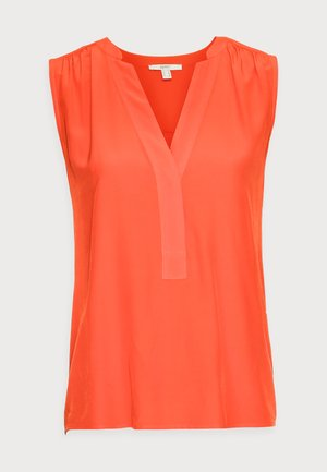 BLOUSE - Top - orange red