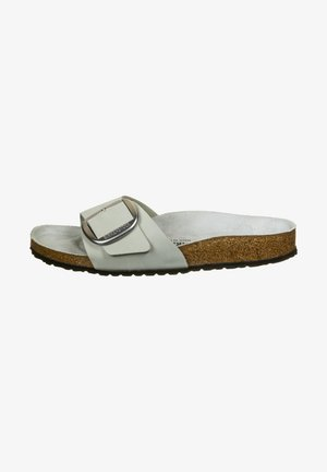 MADRID BIG BUCKLE - Slippers - grey