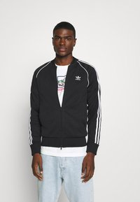 adidas Originals - UNISEX - Veste de survêtement - black/white - 0