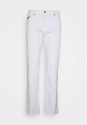 DRILL  - Jean slim - bianco ottico
