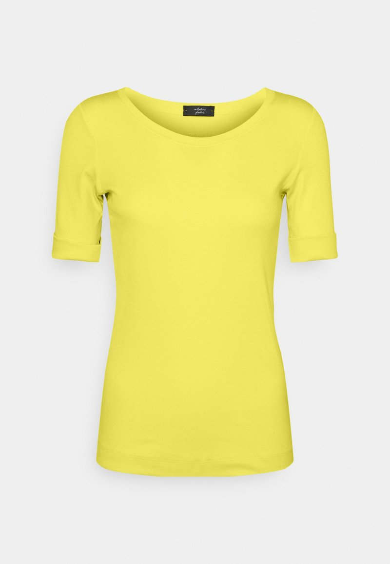 Marc Cain - Basic T-shirt - yellow