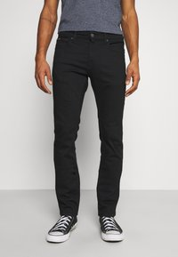 Tommy Jeans - SCANTON SLIM - Slim fit jeans - new black stretch - 0