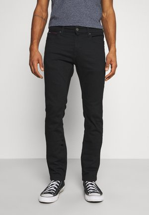 SCANTON SLIM - Slim fit -farkut - new black stretch