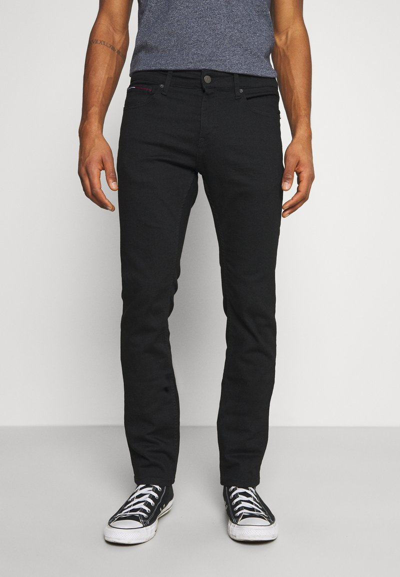 Tommy Jeans - SCANTON SLIM - Slim fit jeans - new black stretch