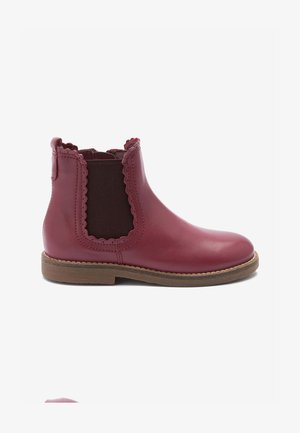SCALLOP - Ankle boots - berry