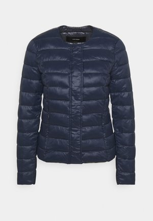 VMSORAYAZIP SHORT JACKET - Lehká bunda - navy