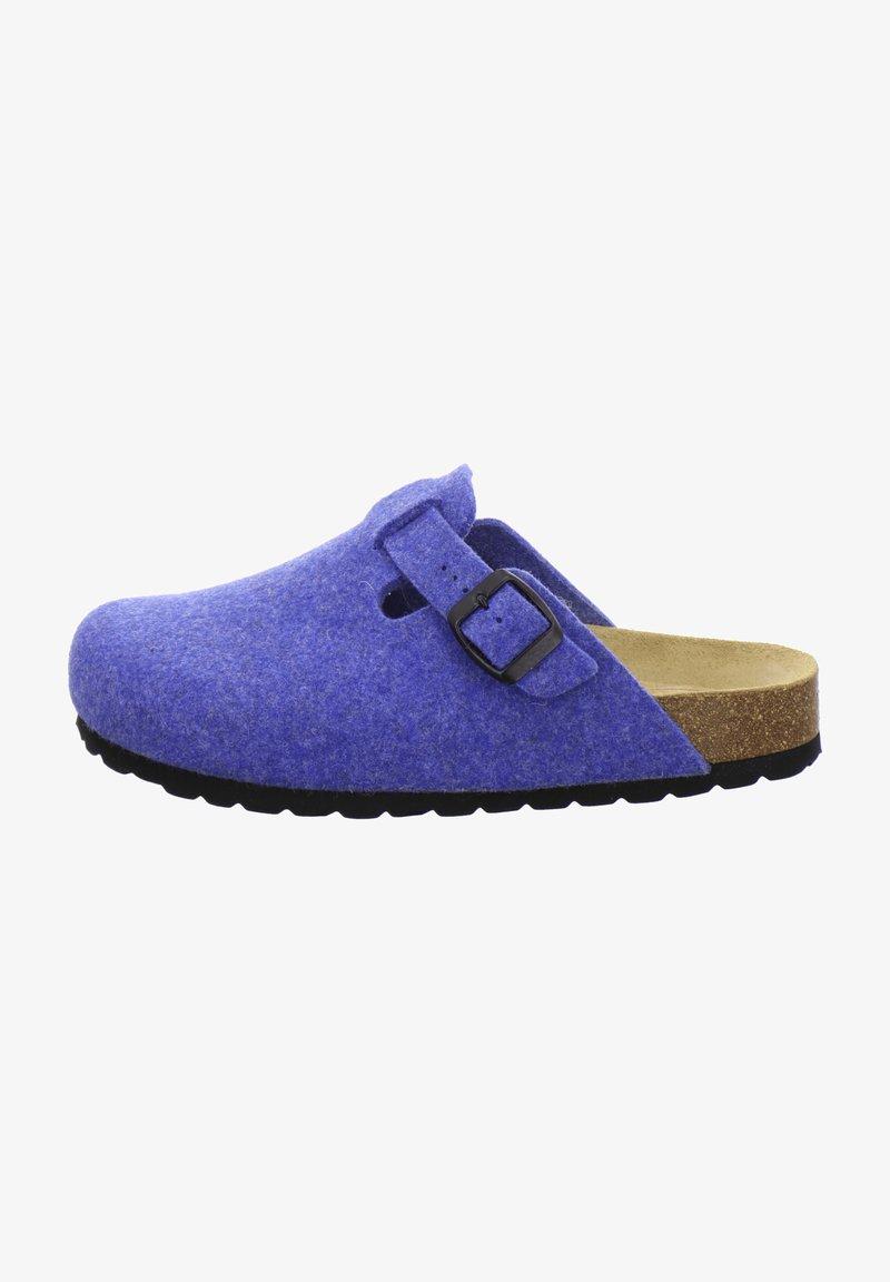 AFS Schuhe - FILZHAUSSCHUH - Slippers - blau