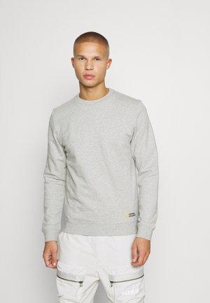 CREW NECK - Sweater - light grey melange