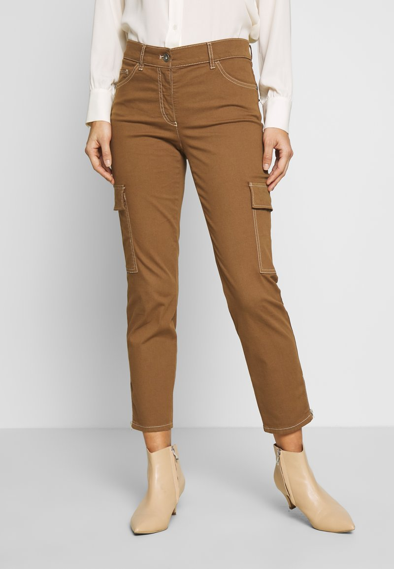 Gerry Weber Casual - Trousers - tabak