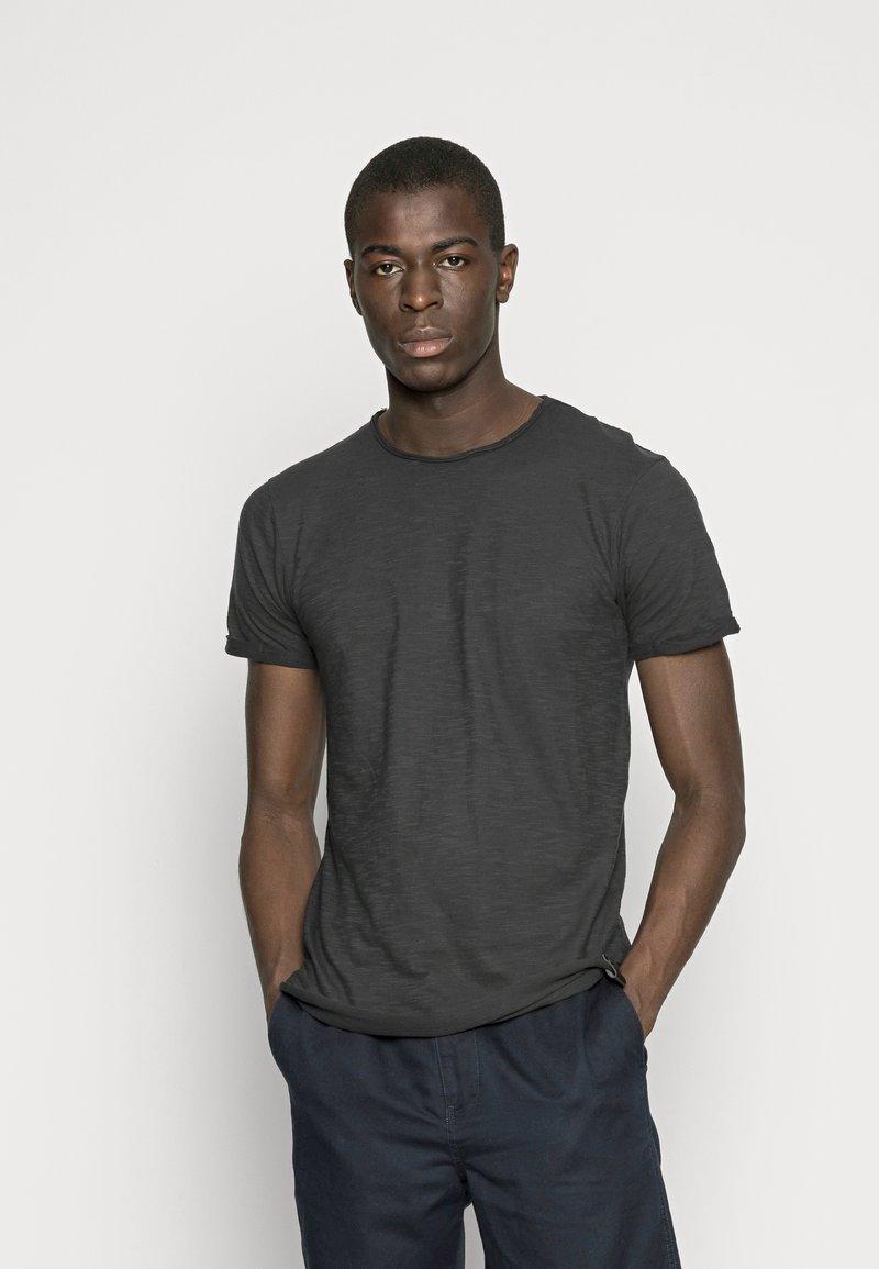 INDICODE JEANS - ALAIN - T-shirt - bas - black