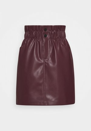 ONLMAIYA MIRI SKIRT - Mini skirt - port royale