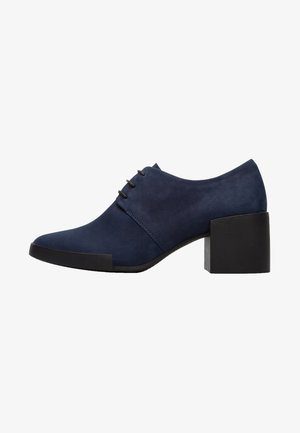 LOTTA TACCHI DONNA 41 - Lace-up heels - blue
