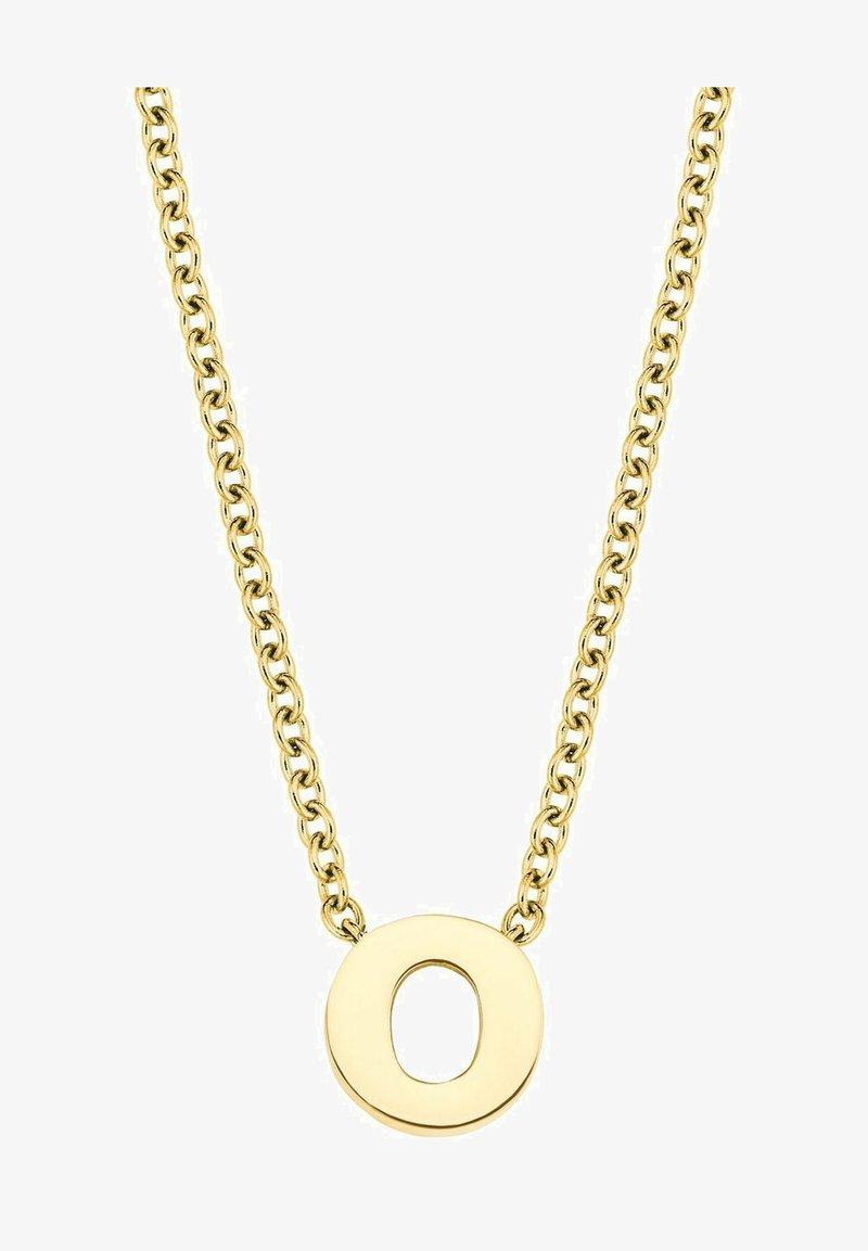 amor - LETTER O - Necklace - silber