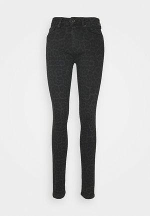 PANTHER - Jeansy Skinny Fit - black denim