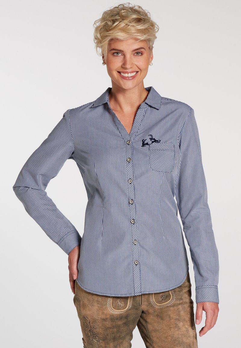 Spieth & Wensky - Button-down blouse - dunkelblau