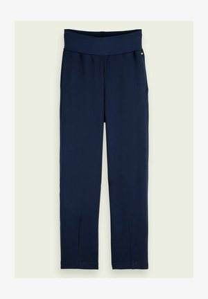 HIGH RISE PANTS - Trousers - night
