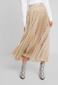 Birgitte Herskind - NESSA SKIRT - A-line skirt - yellow - 0