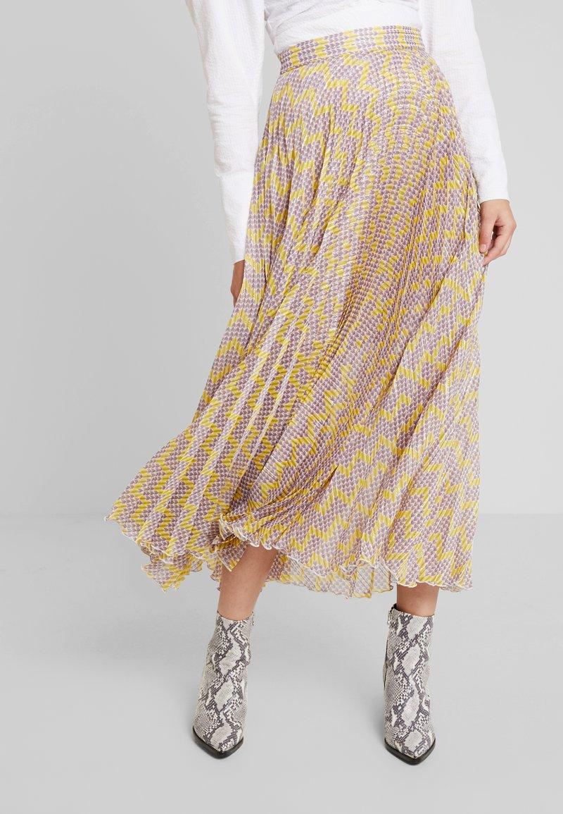 Birgitte Herskind - NESSA SKIRT - A-line skirt - yellow