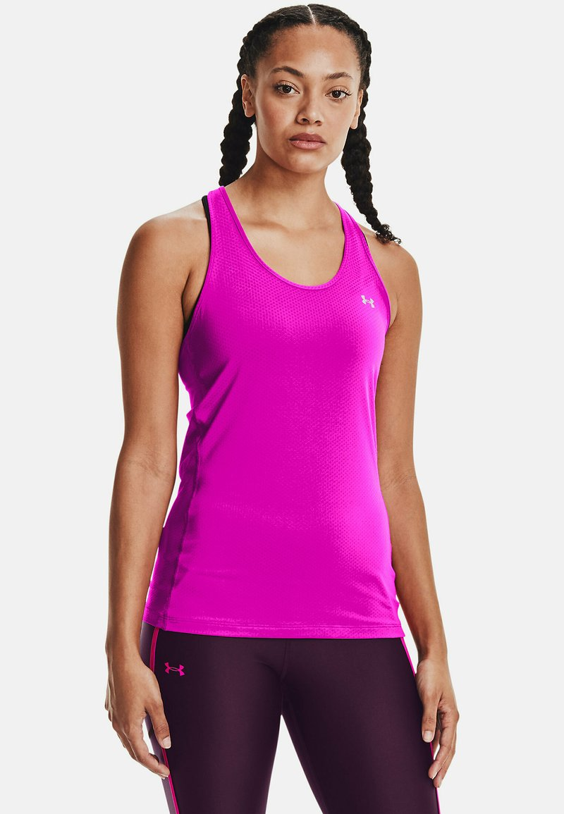 Under Armour - RACER TANK - Sportshirt - pink