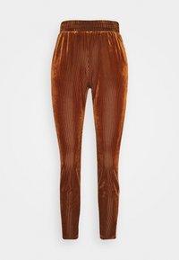 Kaffe - OLINE PANTS - Trousers - ginger bread - 3