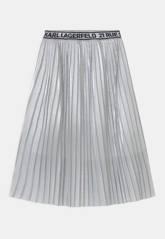 Jupe plissée - light grey