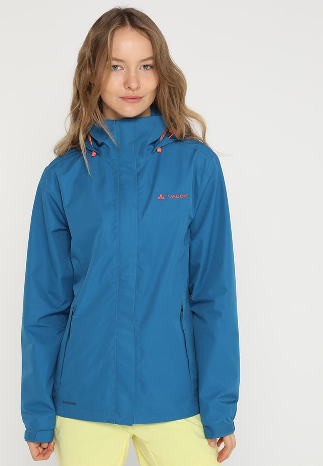WOMANS ESCAPE LIGHT JACKET - Regenjas - kingfisher