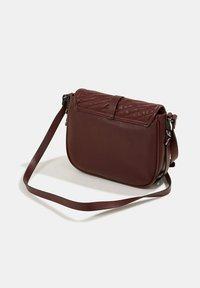 Esprit - Across body bag - bordeaux red - 3
