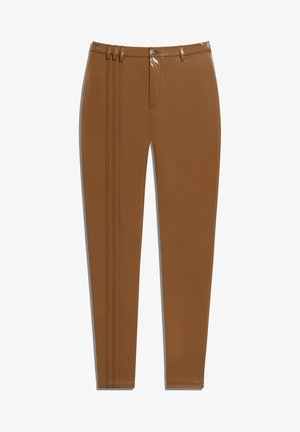 IVY PARK LATEX PANTS - Tracksuit bottoms - wild brown