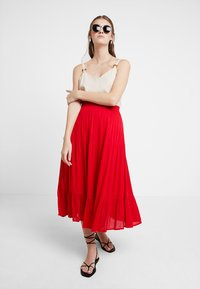 Louche - LEONORA - A-line skirt - red - 1