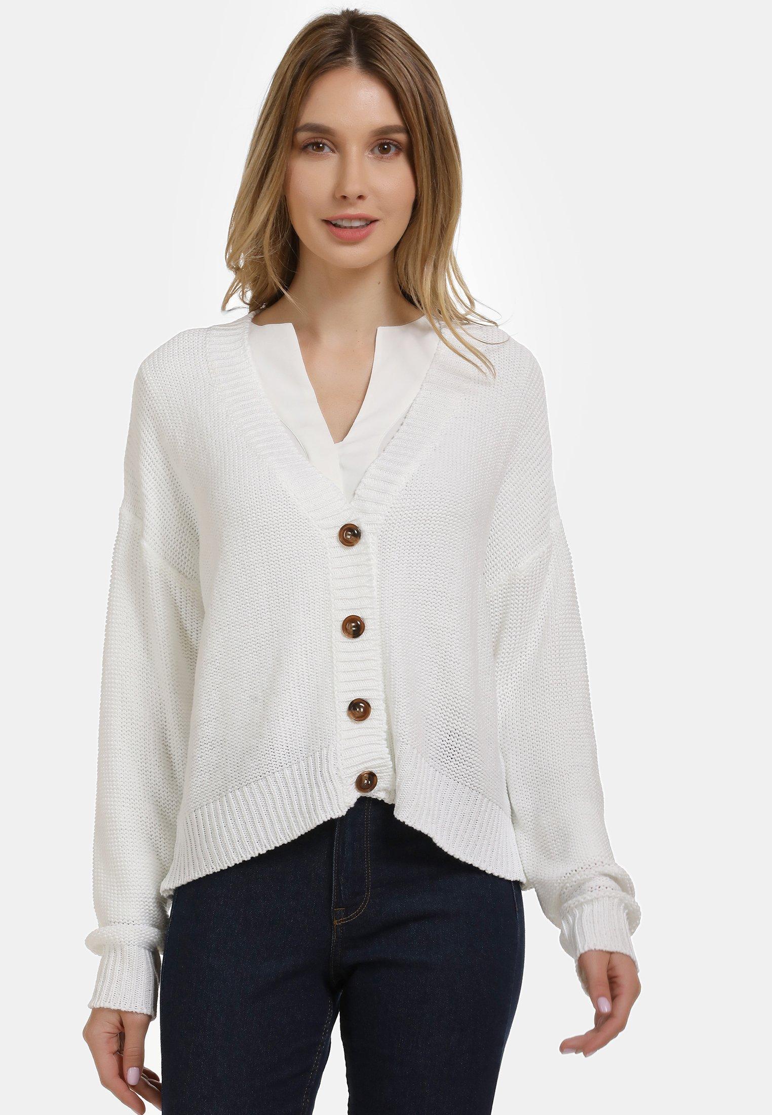 New Style Women's Clothing usha Cardigan white Behzgcgxn