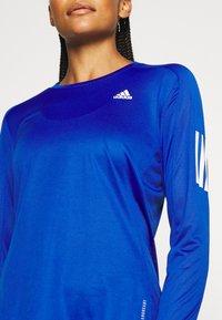 adidas Performance - SPORTS RUNNING LONG SLEEVE - Treningsskjorter - royal blue - 4