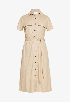 Shirt dress - beige