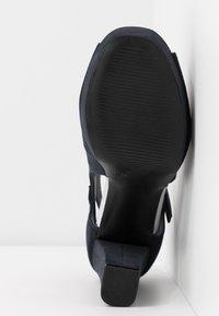 Anna Field - High heeled sandals - dark blue - 6