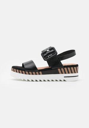 BY GUIDO MARIA KRETSCHMER - Platform sandals - black antic