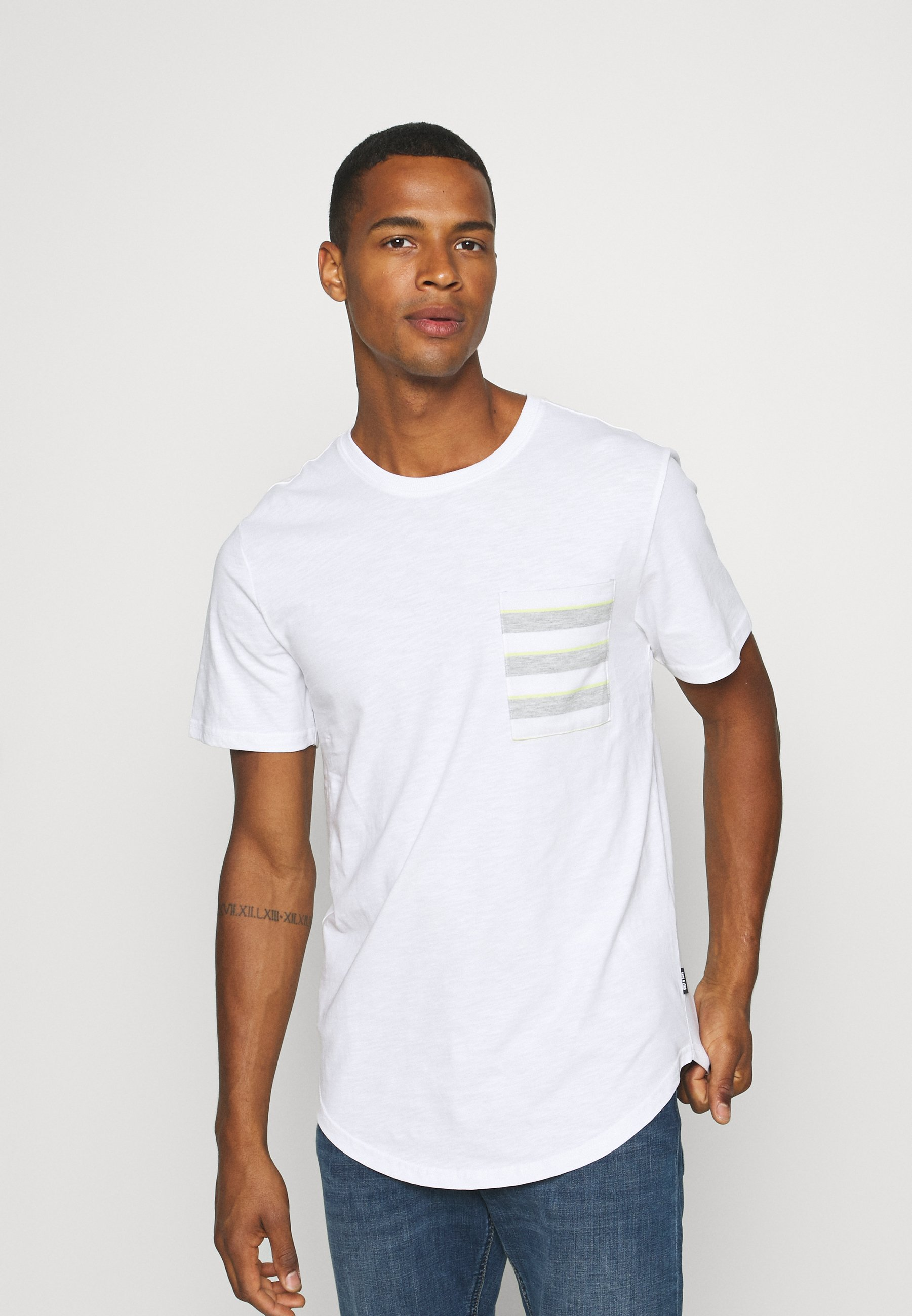 Men ONSVANE LIFE LONGY POCKET TEE - Print T-shirt