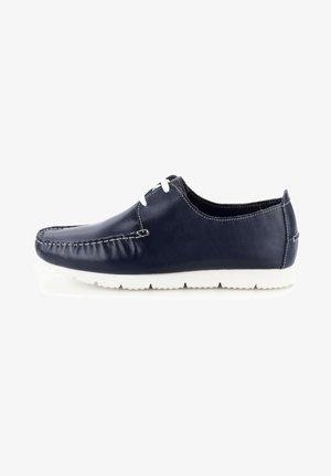 LANDRO - Chaussures bateau - navy blue