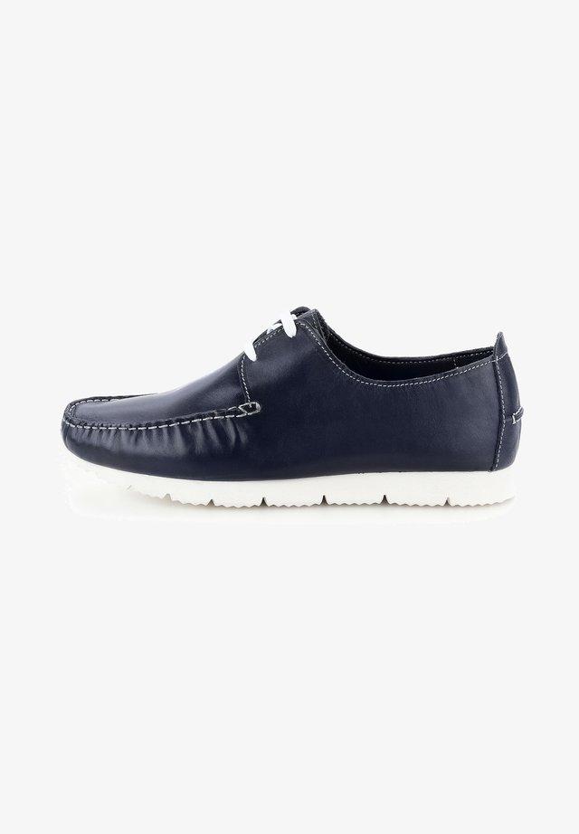 LANDRO - Náuticos - navy blue