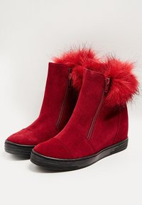 faina - Winter boots - bordeaux - 3