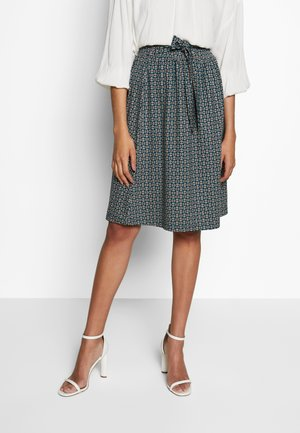 GAIL SKIRT BOURBON - A-line skirt - dragonfly green