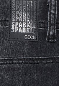 Cecil - LOOSE FIT  - Slim fit jeans - schwarz - 5
