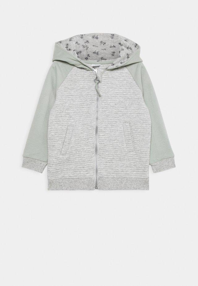 SMART HAPPY - Jersey con capucha - grau melange