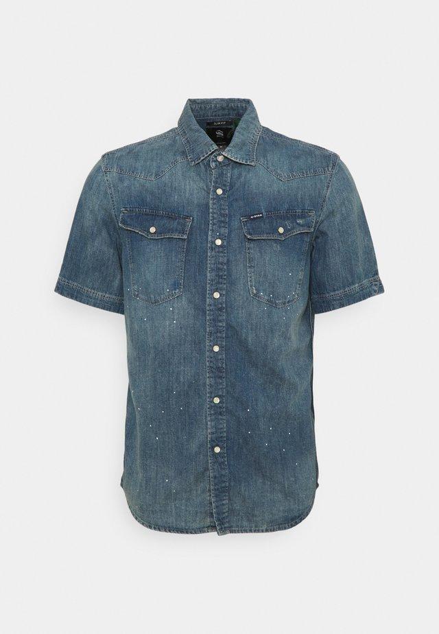 SLIM SHIRT  - Overhemd - blue denim