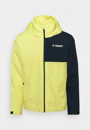 JACKET - Outdoorová bunda - pulse yellow/legend ink