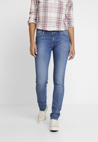 Lee - ELLY - Jeansy Slim Fit - mid hackett - 0