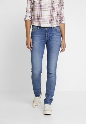 ELLY - Jeansy Slim Fit - mid hackett