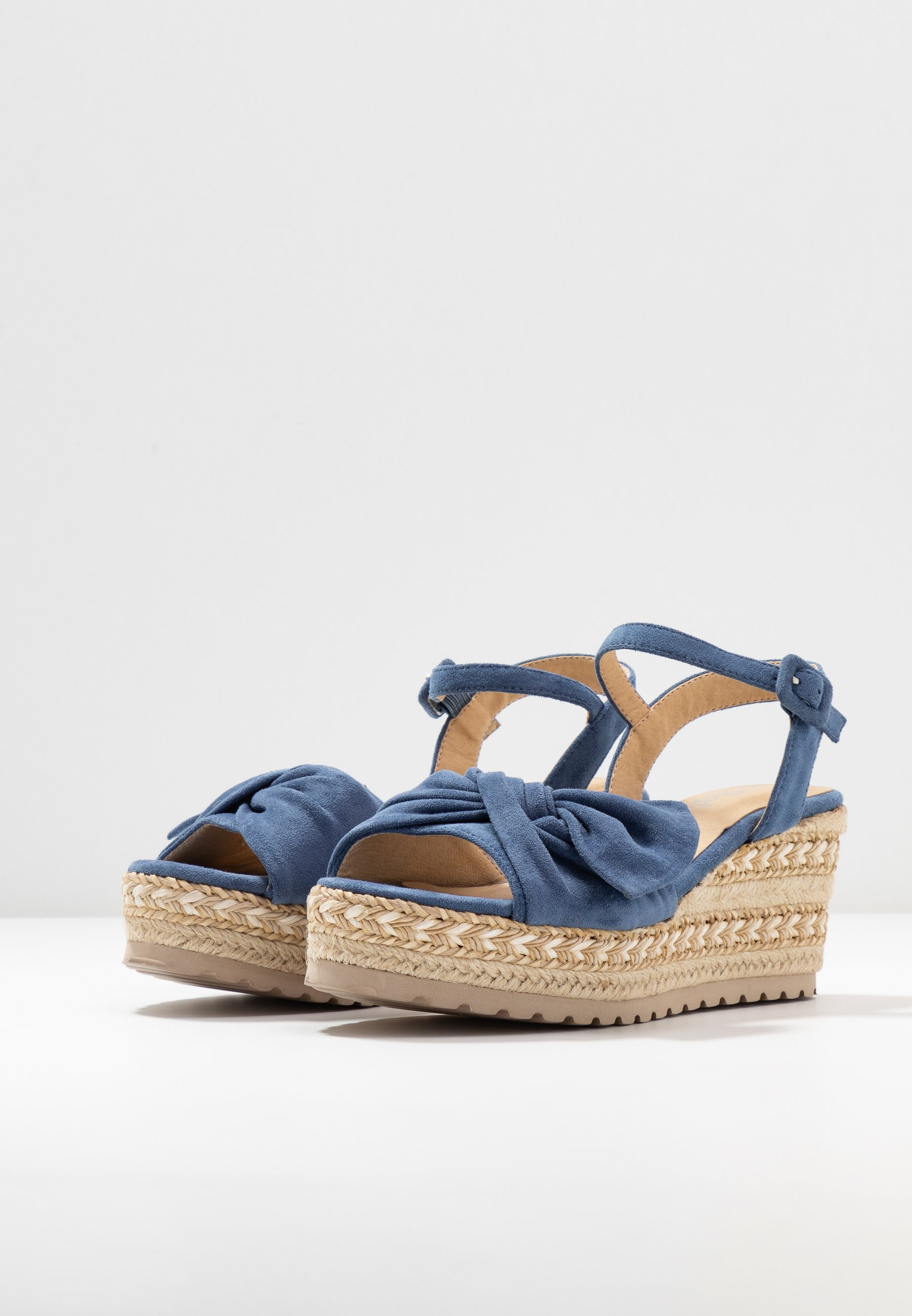 Goede deals Opruiming Refresh Sandalen met plateauzool - jeans - hR939