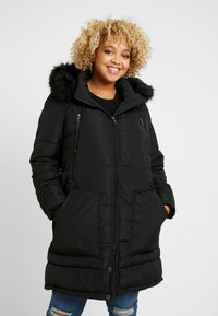 ONLY Carmakoma - CARRHODA WINTER COAT - Winter coat - black - 0