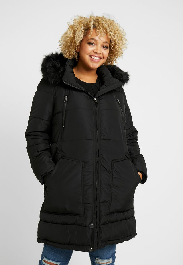 CARRHODA WINTER COAT - Vinterkåpe / -frakk - black