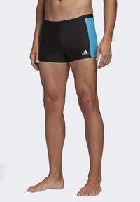 adidas Performance - FITNESS THREE-SECOND SWIM BRIEFS - Swimming trunks - black - 0