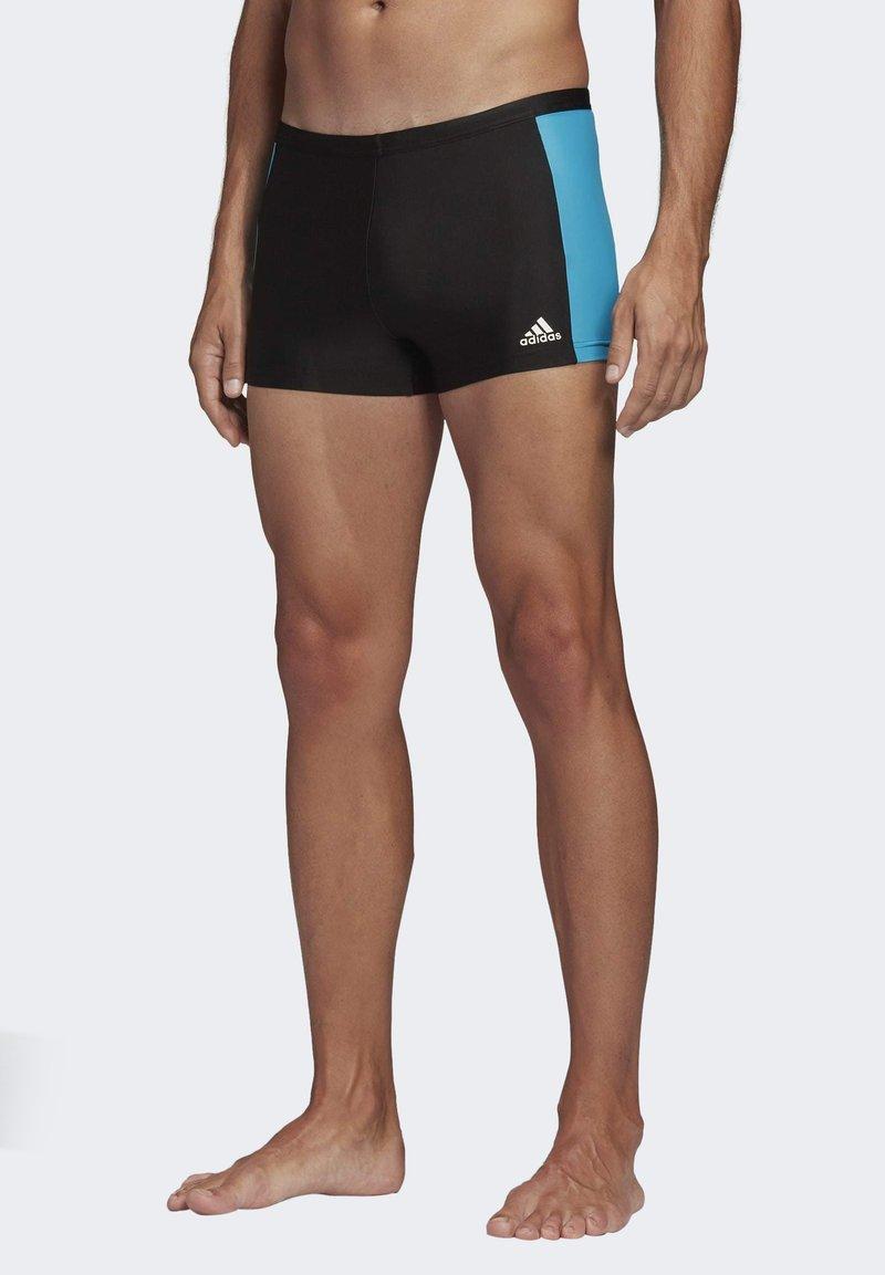 adidas Performance - FITNESS THREE-SECOND SWIM BRIEFS - Swimming trunks - black